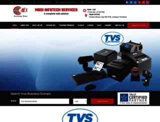 modiinfotech.com screenshot