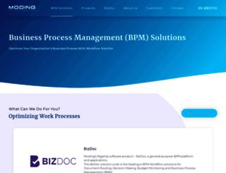 moding.com screenshot