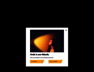 modis.co.uk screenshot