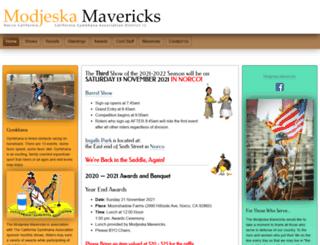 modjeskamavericks.org screenshot