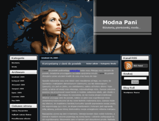 modnapani.eu screenshot