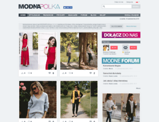 modnapolka.pl screenshot