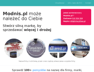 modnis.pl screenshot