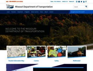 modot.mo.gov screenshot