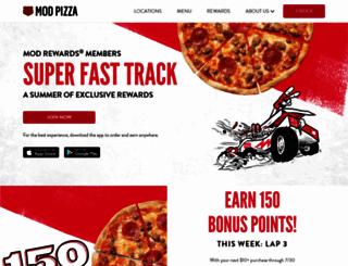 modpizza.com screenshot