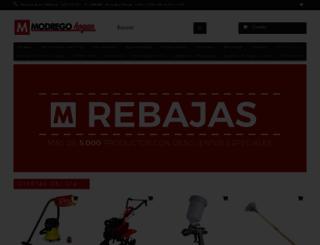 modregohogar.com screenshot