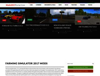 mods2017portal.com screenshot