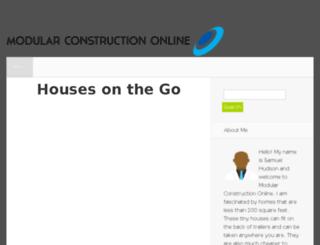 modularconstructiononline.com screenshot