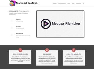 modularfilemaker.org screenshot