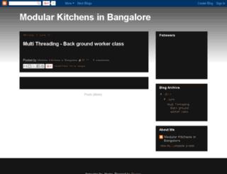 modularkitchensinbangalore.blogspot.in screenshot