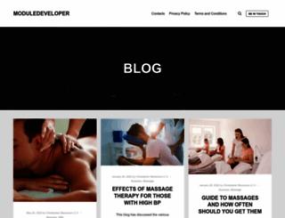 module-developer.com screenshot