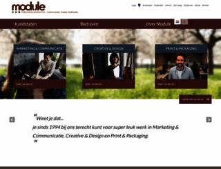 module.nl screenshot