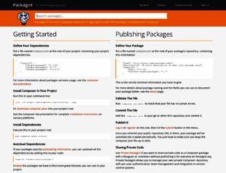 modules.zendframework.com screenshot