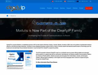 modulis.ca screenshot