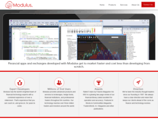 modulus.io screenshot