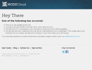 modxcms.de screenshot