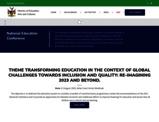 moe.gov.na screenshot