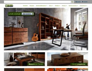 moebel-massiv.com screenshot