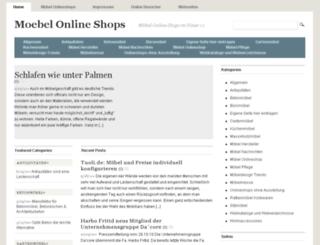 moebel-onlineshops.de screenshot