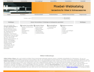 moebel-webkatalog.de screenshot