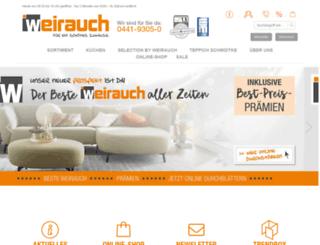 moebel-weirauch.de screenshot