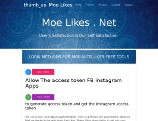 moelikes.com screenshot
