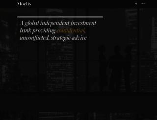 moelis.com screenshot