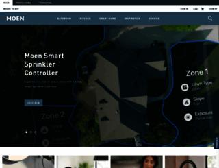 moen.com screenshot