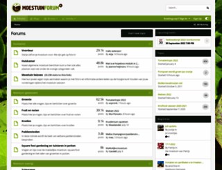 moestuinforum.nl screenshot