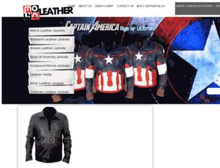 mofoleather.com screenshot