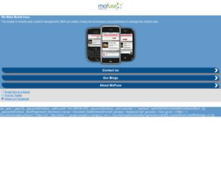 mofuse.mobi screenshot