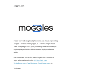 moggles.com screenshot