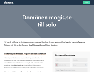 mogis.se screenshot