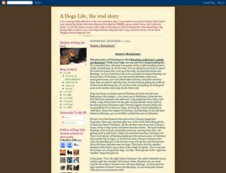 mogley-adogslife.blogspot.com screenshot