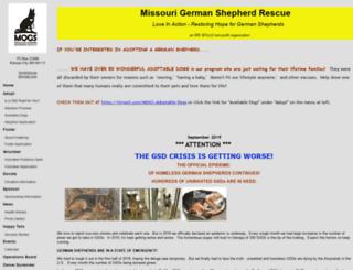 mogsrescue.rescuegroups.org screenshot