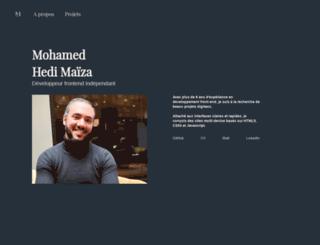 mohamedmaiza.com screenshot