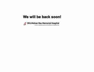 mohanraohospital.com screenshot
