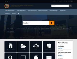 mohavecourts.com screenshot