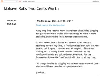 mohaveratstwocentsworth.blogspot.com screenshot