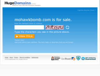mohawkbomb.com screenshot