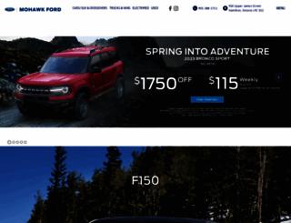 mohawkford.com screenshot