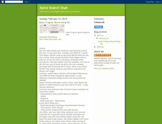 mohdshahrilshah.blogspot.com screenshot