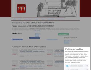 mohedanoarquitectura.es screenshot