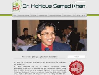 mohidkhan.com screenshot