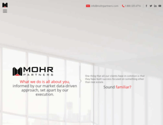 mohrpartners.com screenshot