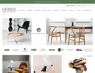 moises-showroom.com screenshot