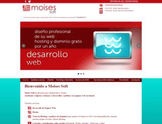 moises-soft.net screenshot
