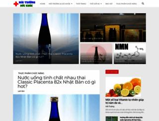 moitruongsuckhoe.com.vn screenshot
