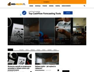 moj-milion.pl screenshot
