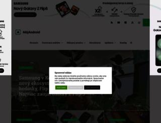 mojandroid.sk screenshot